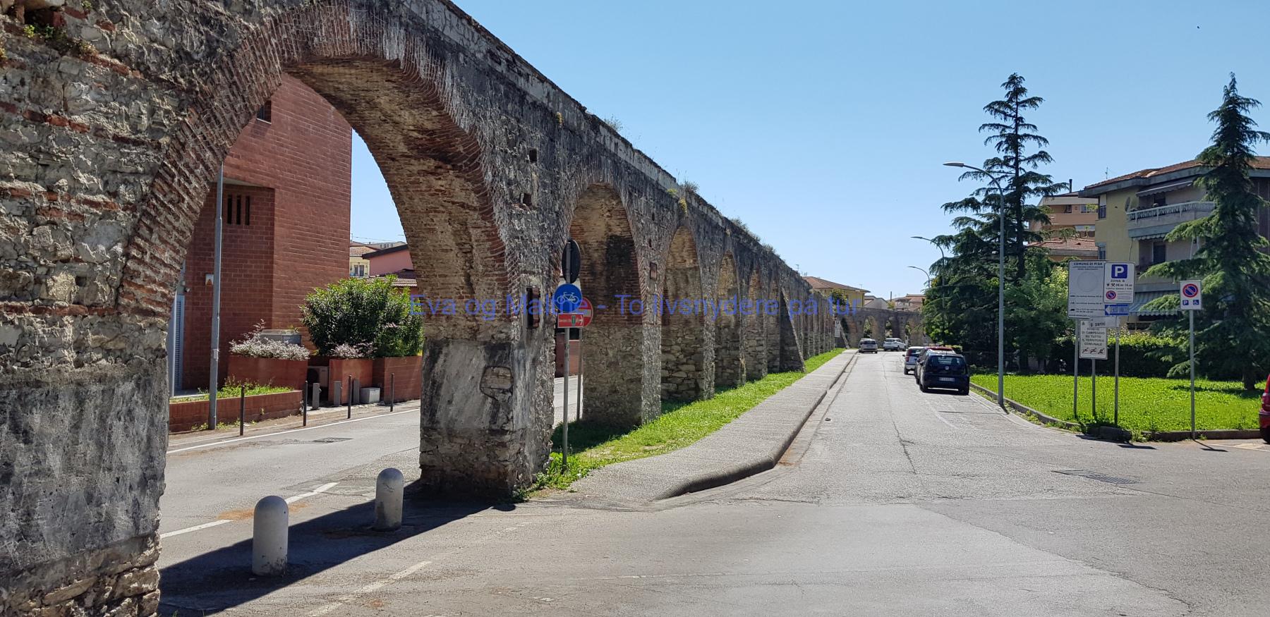 Piza-Italien-evaogmalthe.dk-Viadukt mod Piza