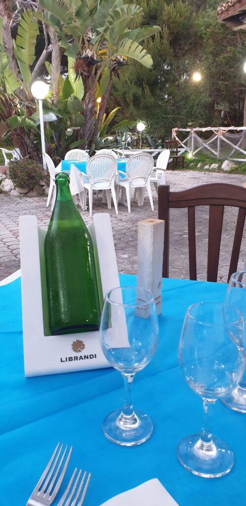No label wine. Angolo Verde. Italy. www.evaogmalthe.dk