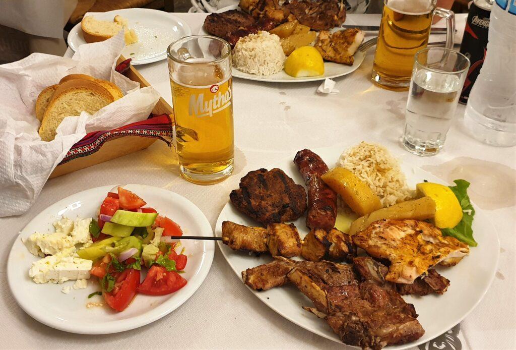Food in Greece www.evaogmalthe.dk